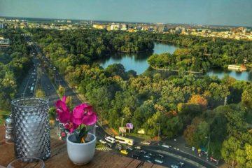 Top 10 skybar-uri de vis, care te vor face să spui: București, te iubesc!
