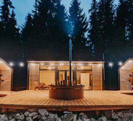 Unic în România. Sauna Village, paradisul neștiut, care îți va șterge orașul din minte