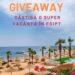 Super Giveaway. Câștigă o vacanță în Egipt, pentru 2 persoane, în paradisul exotic aproape de România